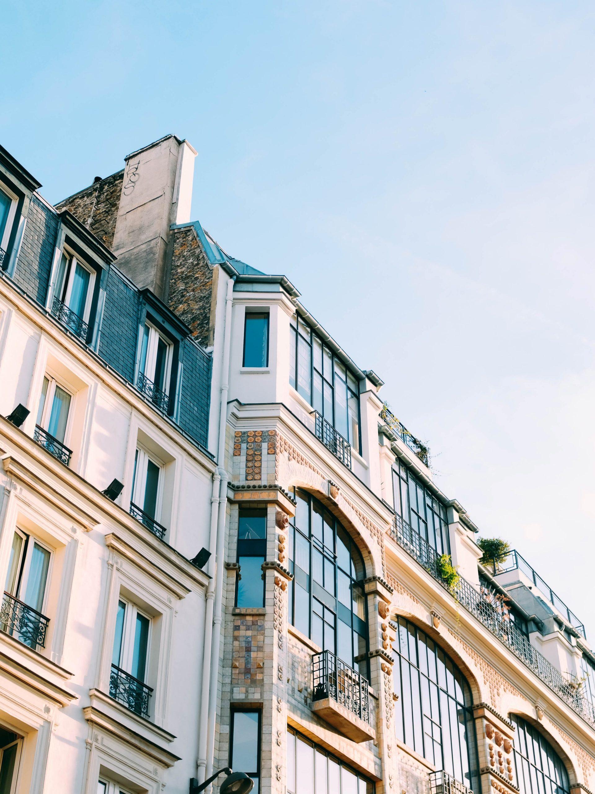 Gebouw Frankrijk